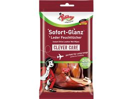 Poliboy Clever Care Sofort Glanz Leder Feuchttuecher