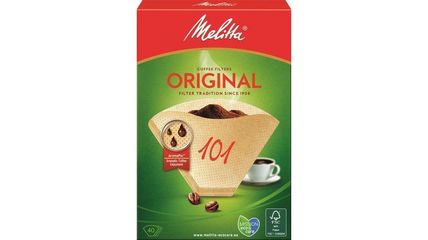Melitta® Filtertüten® 101/40 naturbraun