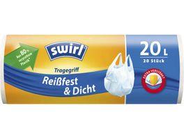 swirl Tragegriff Muellbeutel Reissfest Dicht 20L