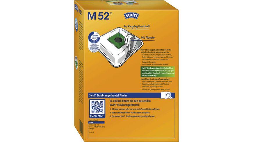 swirl M 52 MicroPor Plus Miele