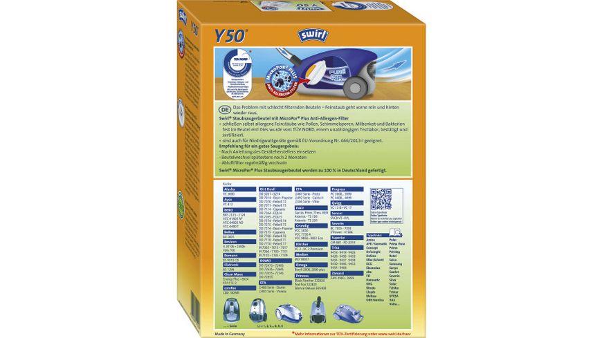 swirl Y 50 MicroPor Plus Uebr Marken