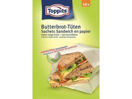 Toppits Butterbrot Tueten