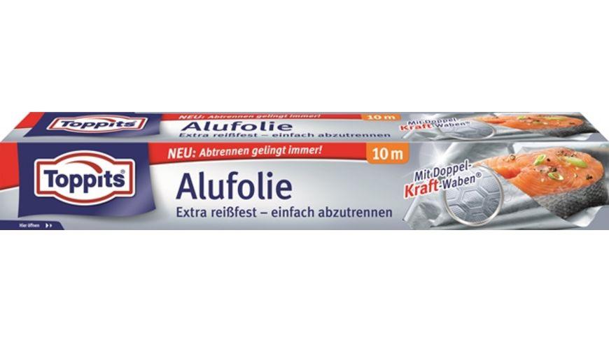 Toppits® Alufolie 10m Karton