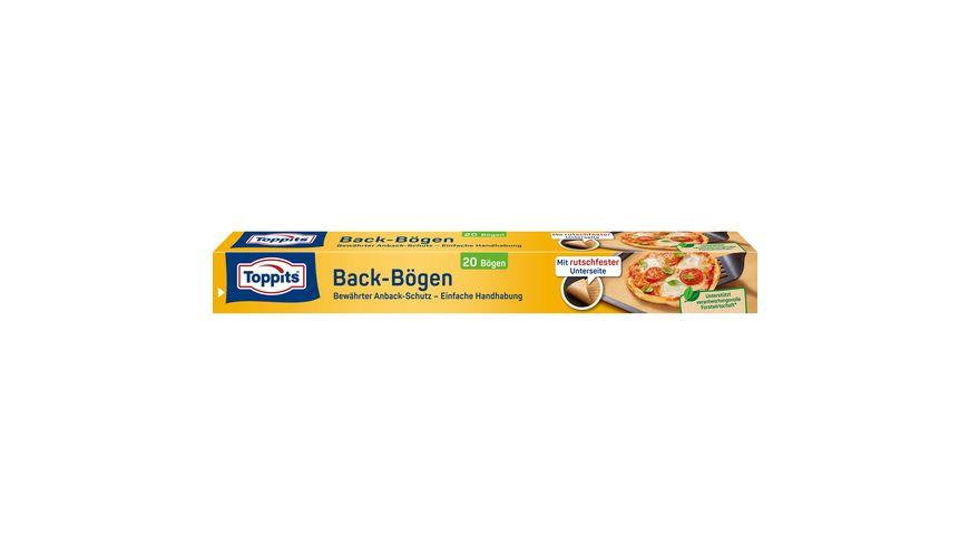 Toppits® Backpapier-Bögen Rutschfest