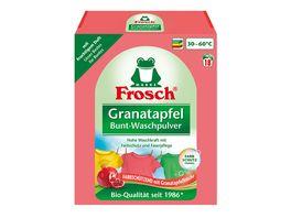 Frosch Granatapfel Bunt Waschpulver