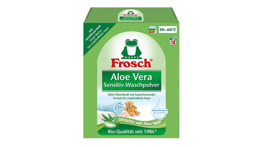 Frosch Aloe Vera Sensitiv-Waschmittel