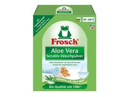 Frosch Aloe Vera Sensitiv Waschmittel