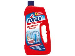 rorax Rohrfrei Power Gel