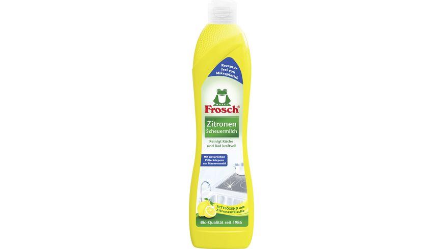 Frosch Zitronen Scheuermilch