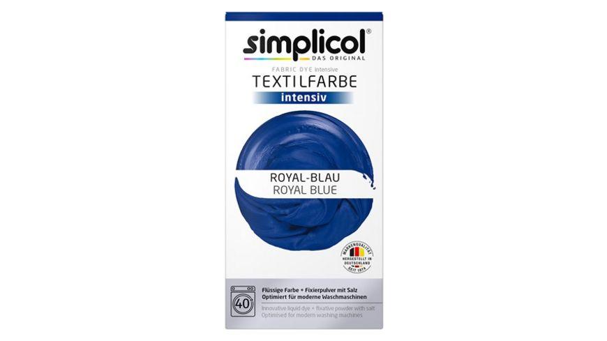 simplicol Textilfarbe intensiv Royal-Blau