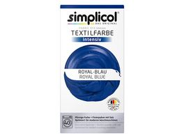 simplicol Textilfarbe intensiv Royal Blau