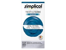 simplicol Textilfarbe intensiv Opal Petrol