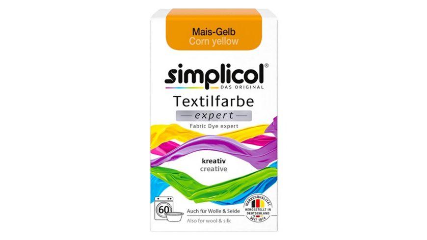 simplicol Textilfarbe expert Mais Gelb