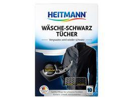 HEITMANN Waesche Schwarz Tuecher
