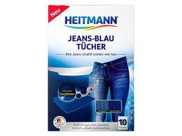 HEITMANN Jeans Blau Tuecher