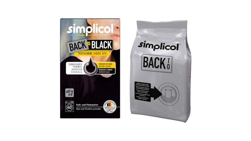 simplicol Back to Black