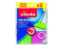 Vileda Microfaser Bodentuch Colors