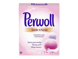 Perwoll Feinwaschmittel Wolle Feines Faserpflege Advanced Pulver