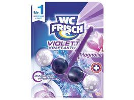 WC FRISCH Kraft Aktiv Violettspueler Magnolie