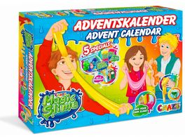 CRAZE 19412 Adventskalender Magic Slime