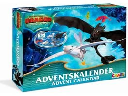 CRAZE 19573 Adventskalender Dragons