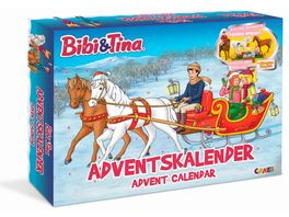 CRAZE 19474 Adventskalender Bibi Tina