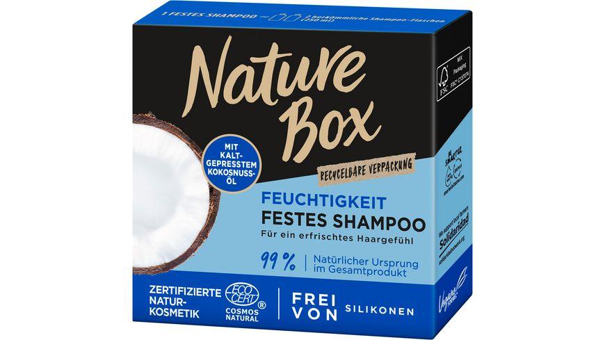 NATURE BOX festes Shampoo Kokosnuss Oel