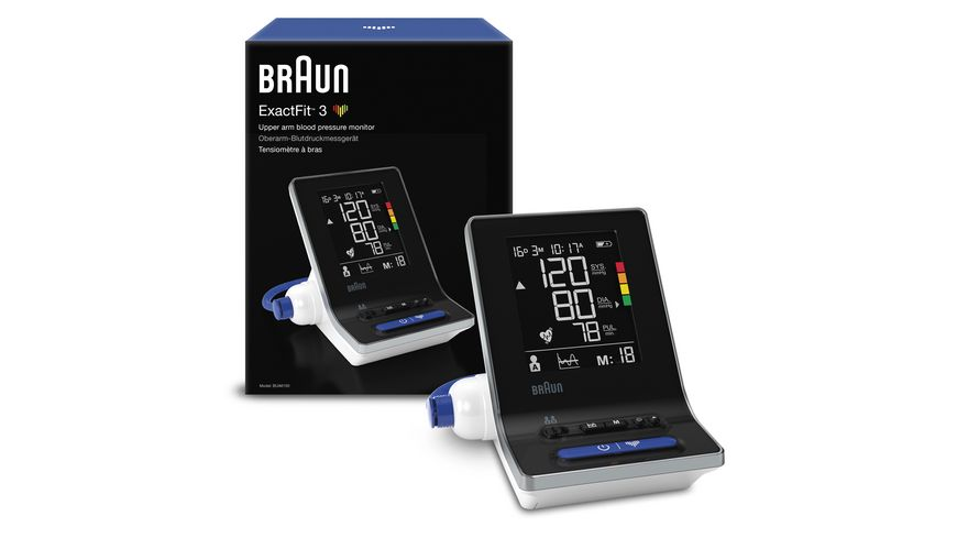 BRAUN Blutdruckmessgeraet ExactFit 3