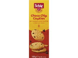 Schaer Choco Chip Cookies mit Schokotropfen