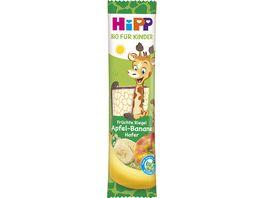 HiPP Bio Fruechte Riegel Apfel Banane Hafer