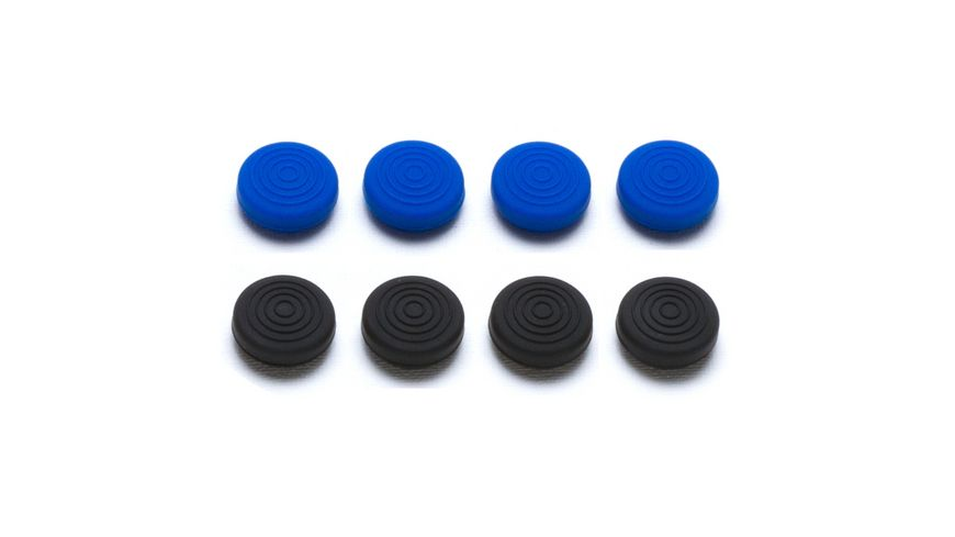 snakebyte PS4 Control:Caps (4x black 4x blue)