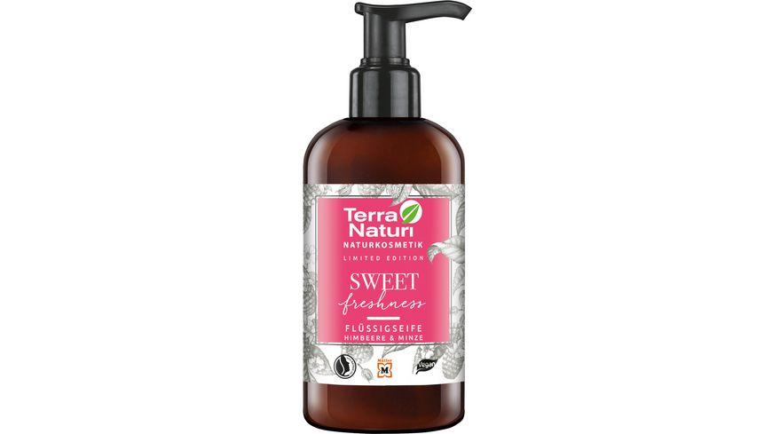 Terra Naturi SWEET freshness Fluessigseife Himbeere Minze