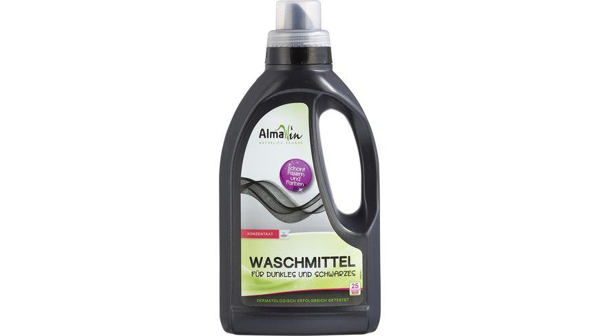 AlmaWin Waschmittel fuer Dunkles und Schwarzes
