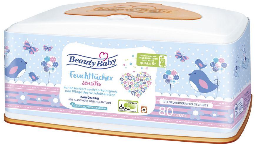 Beauty Baby Comfort Feuchtt Sensitiv Box
