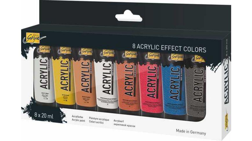 KREUL Acrylic-Effect Colors 8 x 20ml