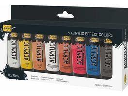 KREUL Acrylic Effect Colors 8 x 20ml