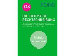 PONS Die Deutsche Rechtschreibung Richtig schreiben