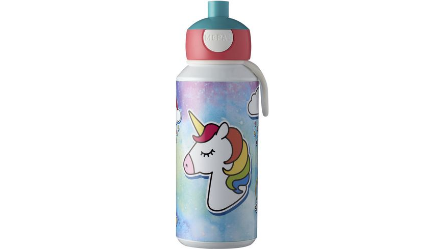 MEPAL Trinkflasche Pop up Campus Unicorn