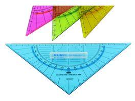 KUM 464 Geometriedreieck 22 cm sortiert