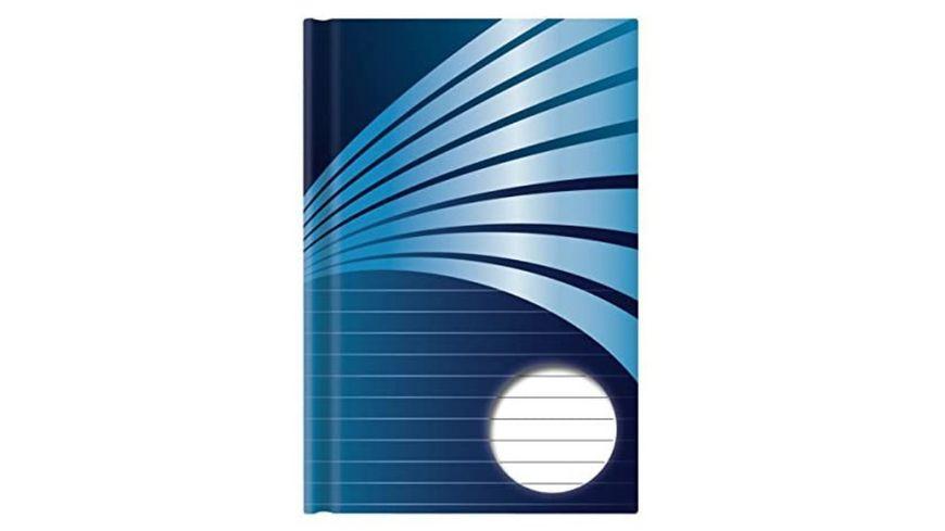 STYLEX Kladde A5 192 Seiten liniert