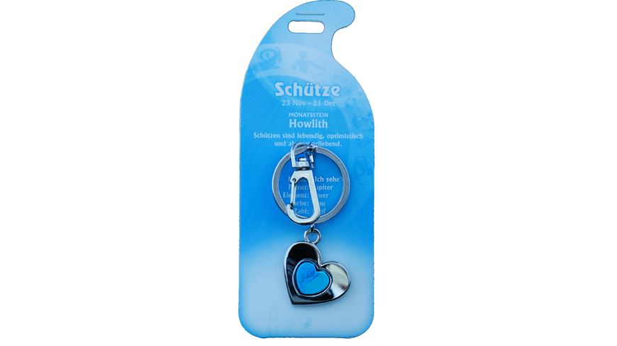 Schlüsselanhänger Schütze - Howlith