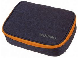SCHNEIDERS Pencil Box Big Wizzard Dark Blue Melange