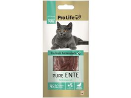 Pro Life Katze Katzensnack Pure Ente 10g