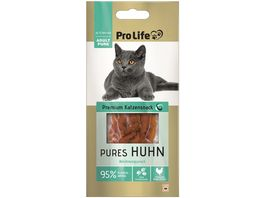 Pro Life Katze Katzensnack Pures Huhn 10g