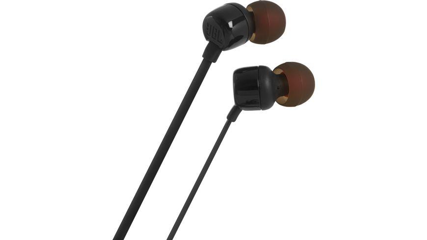 JBL Tune 110 In Ear Kopfhoerer Schwarz