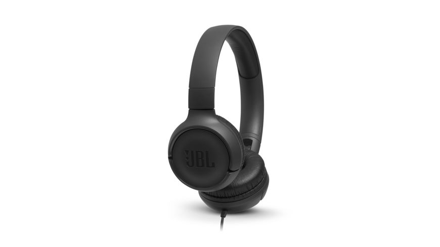 JBL Tune 500 On Ear Kopfhoerer Schwarz