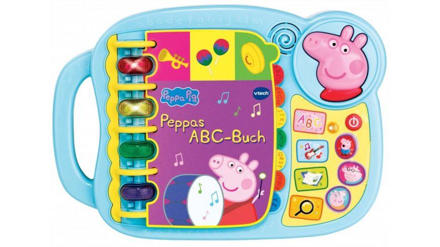VTech Ready Set School Peppas ABC Buch