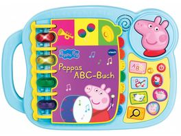 VTech Ready Set School Peppas ABC Buch