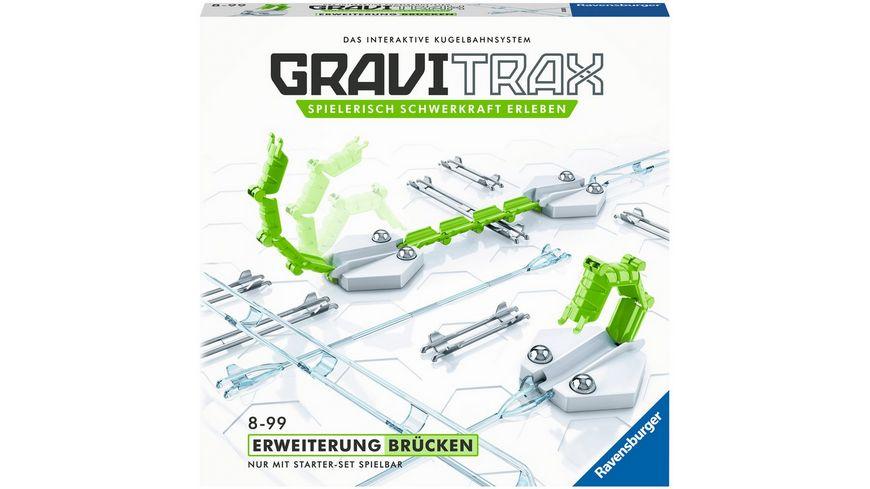 Ravensburger Beschaeftigung GraviTrax Erweiterung Bruecken