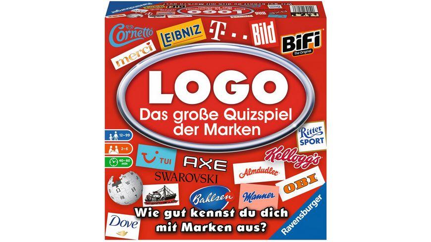 Ravensburger Spiel LOGO Das grosse Spiel der Marken